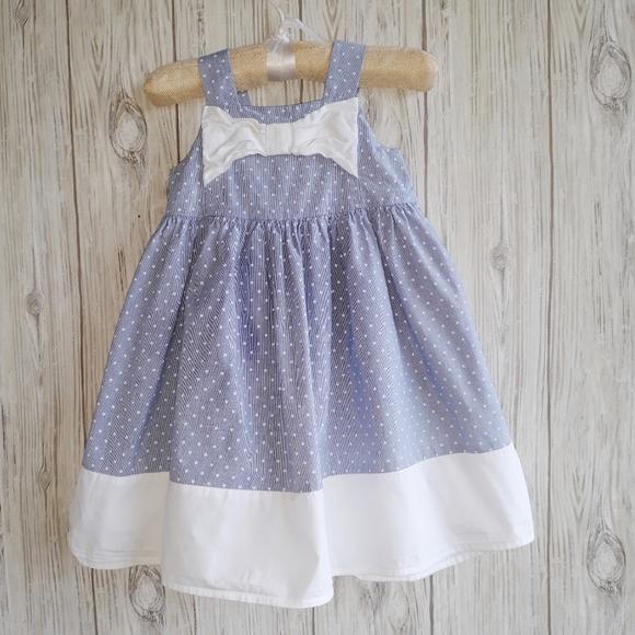 Gymboree Polka Dot Tank Dress Size 3T